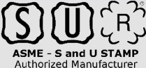 ASME - S and U STAMP Authorized Manufacture