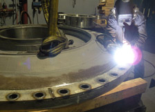 Heavy Scale Welding