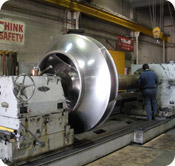 Large Scale Heavy Turning