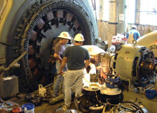 Hydro Turbine Overhaul