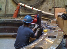 Industrial Welding Process